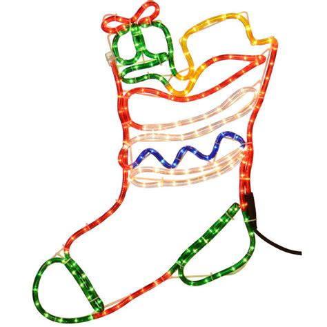 outdoor christmas stocking lights mains voltage festive light christmas stocking for