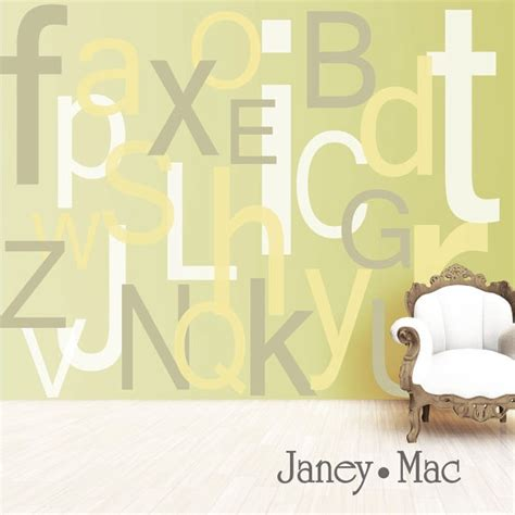 large alphabet wall stickers alphabet wall decal large oversized letters children s