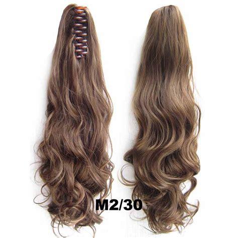 Jual Rambut Palsu Wig Synthetic Hair wig pria wig rambut palsu model wavy 55 cm m2 30 brown