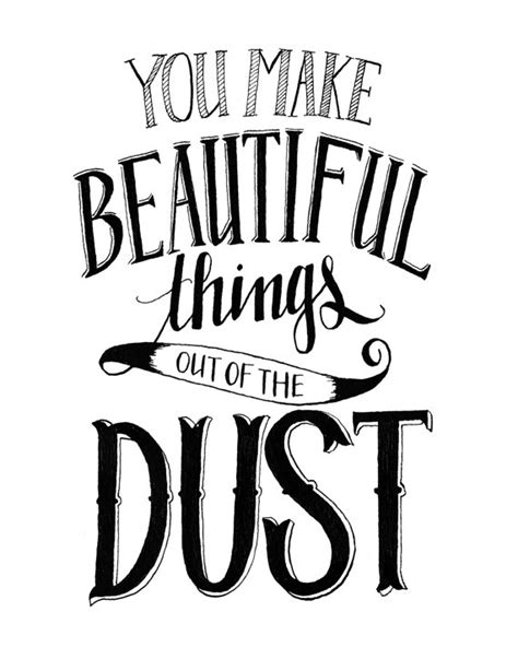 7 Things That Make You Beautiful by 5x7 Print You Make Beautiful Things Out Of By