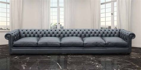long settee buy 15 foot long chesterfield sofa at designersofas4u