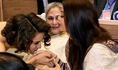 aishwarya rai jaya bachchan controversial pictures of amitabh bachchan and kangana