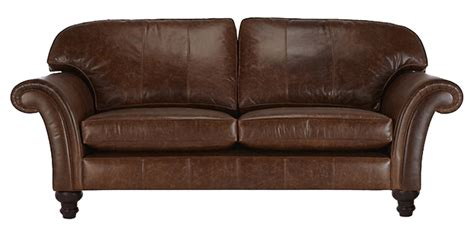 Ornate Sofas by 2 Seater Leatherette Sofa With Panel Arms And Ornate Legs