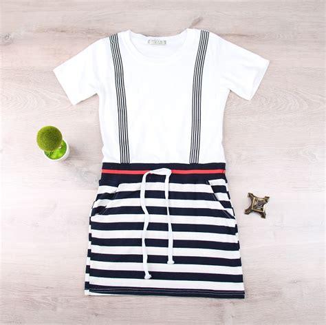 Jumpsuit 4 Motif jual beli casual dress putih motif jumpsuit garis baju