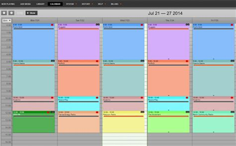 doodle calendar open source airtime sourcefabric