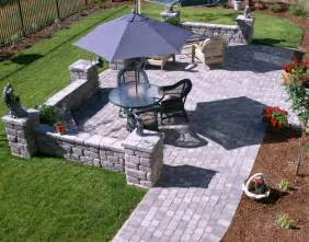 Patios Designs by Pics Photos Stone Patio Designs