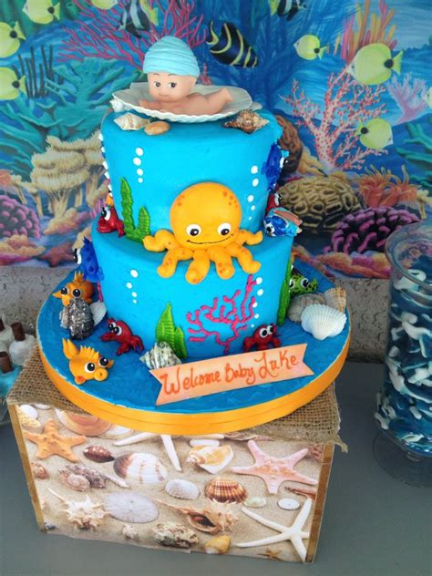 Baby Shower The Sea Theme by The Sea Baby Shower Ideas Baby Ideas