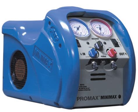 What Is A Refrigerant Recovery Machine by Promax Minimax Refrigerant Recovery Machine