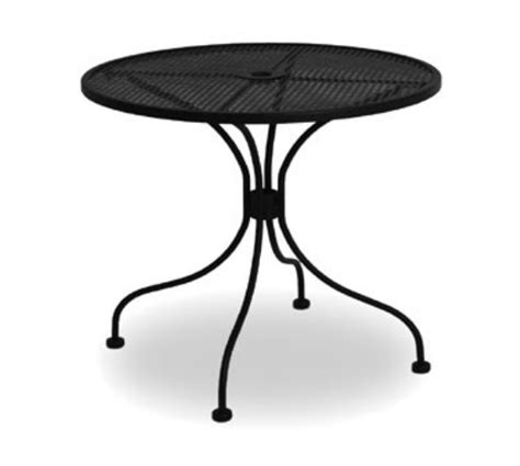 Metal Mesh Patio Table Metal Mesh Patio Table New 28 Quot Black Bistro Table Wrought Iron In Outdoor Cafe Patio Metal