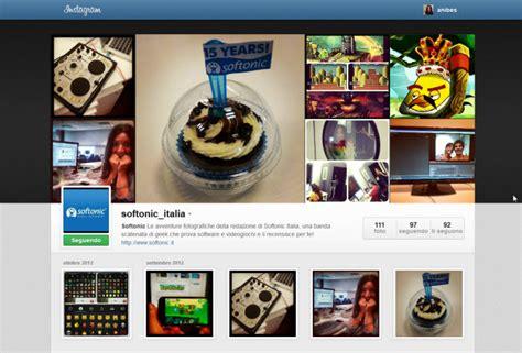 scaricare layout instagram instagram sbarca sul web