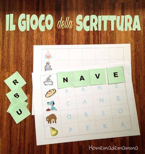 gioco delle lettere per bambini il gioco della scrittura