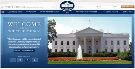 house website change is here new white house website uploaded the
