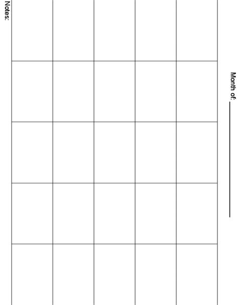 5 Day Work Week Calendar Template by 8 Best Images Of 5 Day Week Blank Calendar Printable 5