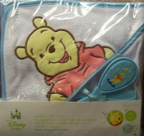 Combs Showers His New Babies With Diamonds by New Winnie The Pooh Hooded Towel With Brush And Comb Baby