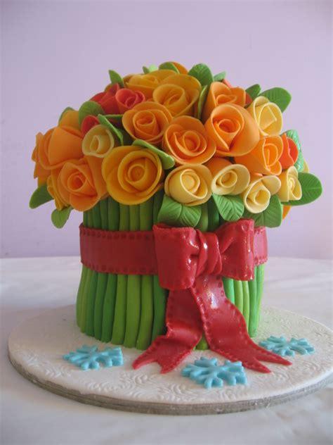 torta mazzo di fiori dolcinzia torta mazzo di