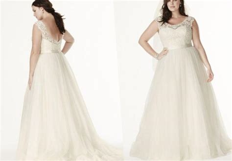 Plus Size Lace Wedding Dresses With Cathedral by David Bridal Bridesmaid Dresses Plus Size Pluslook Eu