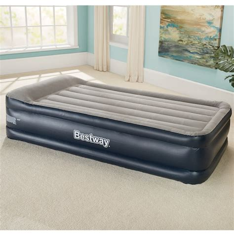 tritech raised height queen air bed  bestway seventh