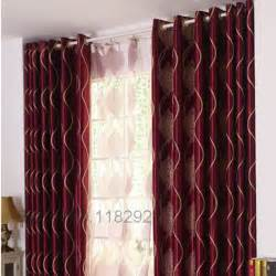 Popular burgundy curtains buy cheap burgundy curtains lots from china
