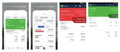 what is the top ratedandroid app for invoices hardhost info
