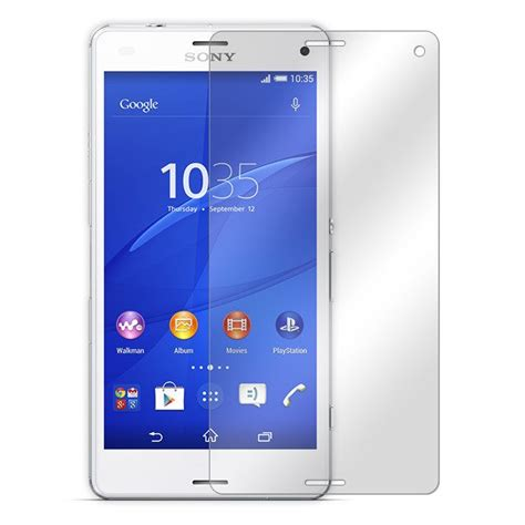 Tempered Glass Z3 Compact tempered glass screen protector sony xperia z3 compact d5803 29668 vegacom