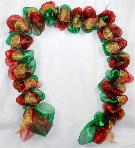 images  christmas mesh garland  pinterest