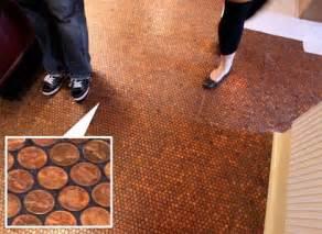 Cheap Kitchen Flooring Diy Cheap Luxury Diy Round Floor Tiles From Glazed Pennies