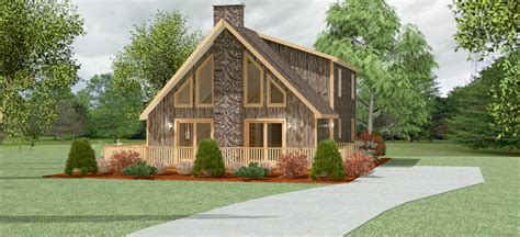 chalet house free mountain home plans