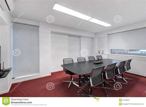 Room Planner Diagonal Wall Modern Office Meeting Room Stock Photo Image 51939067