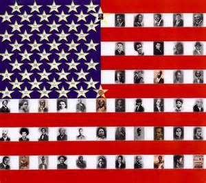 black history colors american flag