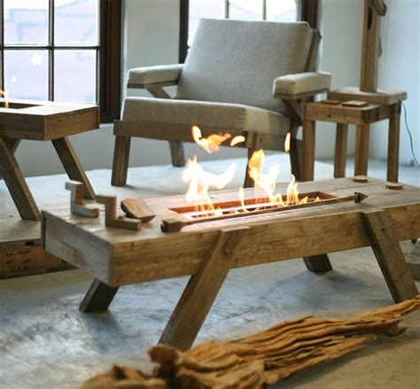 ethanol fireplace coffee table 74 best bio ethanol fireplace images on