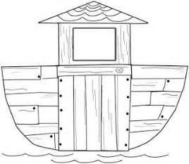 ark template faith filled freebies free noah s ark clip and lesson