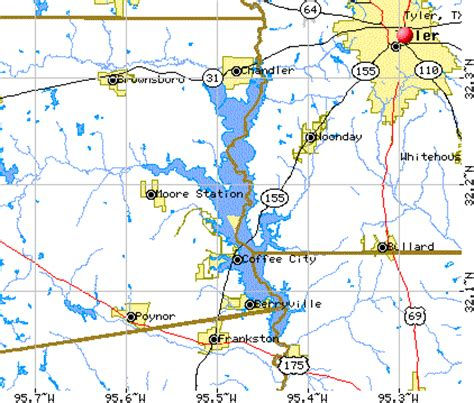 lake palestine texas map texas location on map texas transit elsavadorla