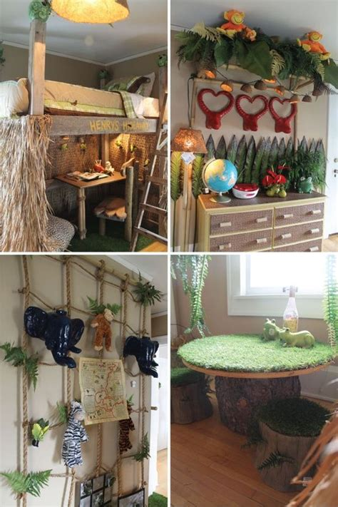 jungle themed bedroom boys bedroom jungle themed child room ideas pinterest