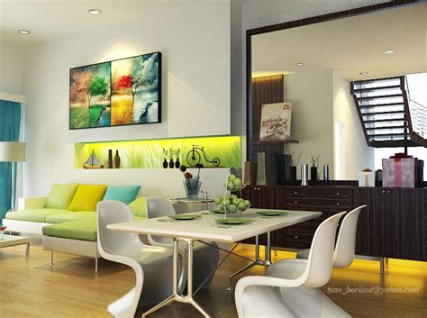 green and turquoise living room 9 lime green white turquoise living dining room interior design ideas