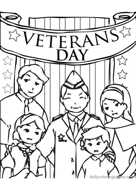 Veterans Day Coloring Pages Printable 18 free quot veterans day coloring pages quot printable thank