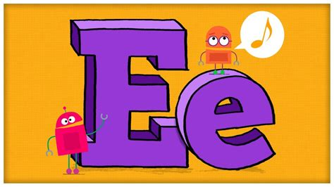 song e abc song the letter e quot everybody has an e quot by storybots
