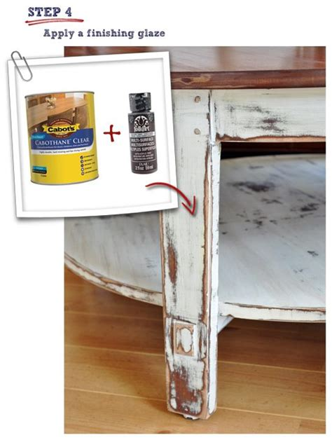 diy how to paint and distress a coffee excellent