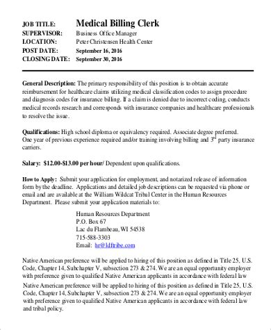 Sle Of A Billing And Coding Resume by Coding Duties 28 Images Billing And Coding