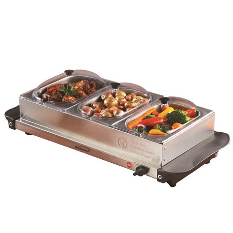 heated buffet servers bf 315 buffet server w warming tray brentwood appliances