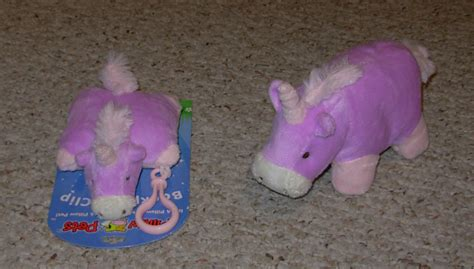 free pillow pets unicorn lot mini backpack clip and