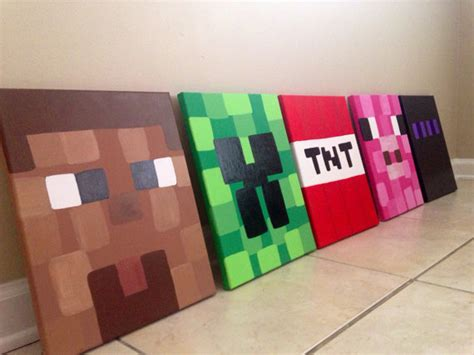 minecraft bedroom accessories minecraft wall decoration ideas www imgkid com the