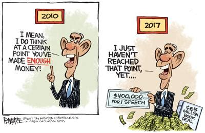 Obama Changes Tune On Making Money In Rick Mckee S Latest