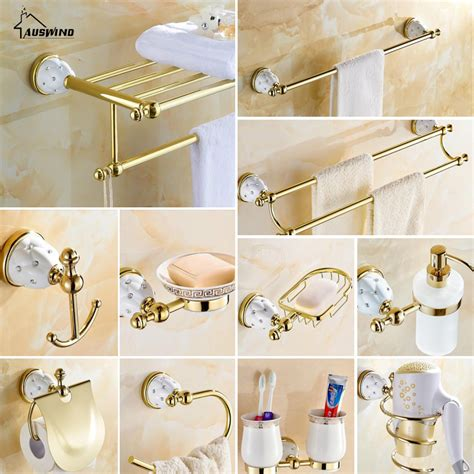 crystal bathroom accessories sets diamond stars bathroom accessories sets crystal brass gold