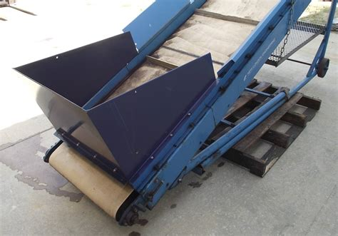 new 24 quot wide incline belt conveyor used