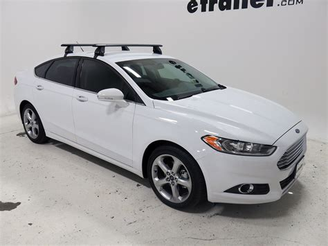 Ford Fusion Roof Rack roof rack for 2015 fusion by ford etrailer