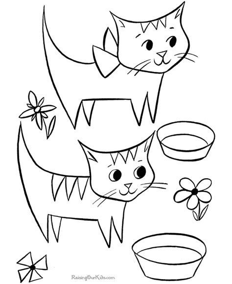 printable cat pictures   clip art