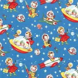 Retro Bedroom Ideas cx1253 retro rocket rascals children kids playful space