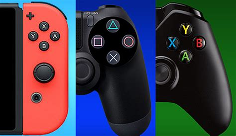 ps4 vs xbox one console ps4 vs xbox one vs nintendo switch which console will