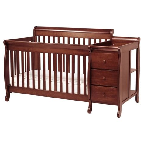 Kalani 4 In 1 Convertible Crib With Toddler Rail Davinci Kalani 4 In 1 Convertible Crib Nursery Set W Toddler Rail In Cherry M5501c Cribset Pkg