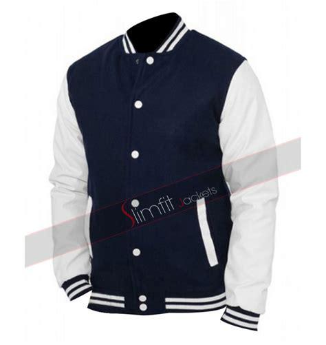 mens designer varsity jacket baseball varsity mens red blue letterman jacket